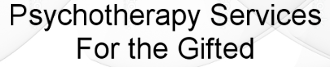 Psychotherapy Services For The Gifted